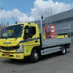 Volledig elektrische vrachtwagen